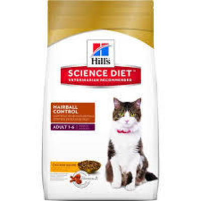 Hills Adult Hairball Control 1-6 Gato