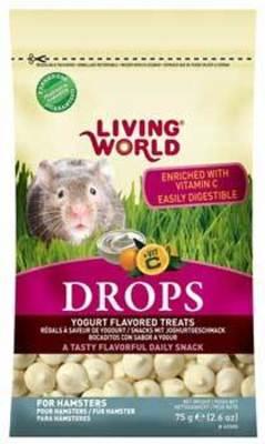 Living World Drops Hamster Yogurth 75 gr