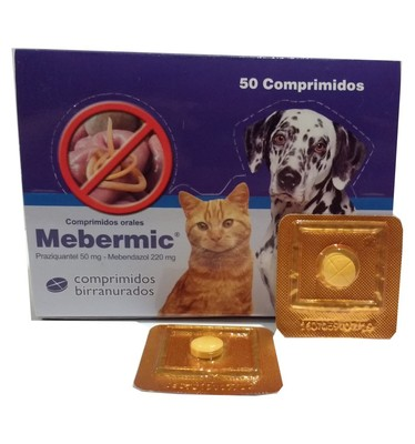 Mebermic Antiparasitario Interno hasta 10 kg