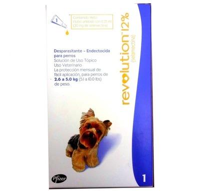Revolution 12% Perros de 2.6 a 5 kg