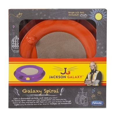 Jackson Galaxy Spiral Blue