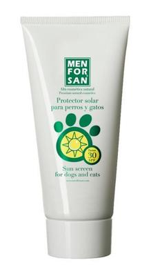 Men For San Filtro Solar para perros 125 ml
