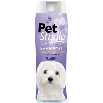 Pet Studio Shampoo Pelo Blanco