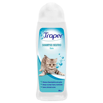 Traper Shampoo Gatos 260 ml