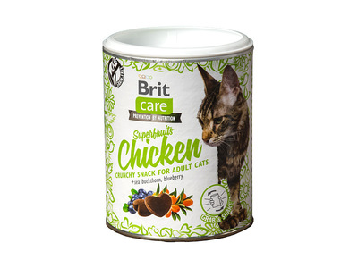 Brit Care Cat Snack Superfruits Chicken 100gr