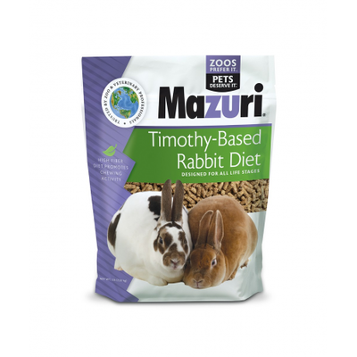 Mazuri Timothy-Based Rabbit Diet 1K