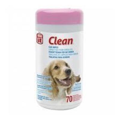 Hagen Dog It Toallitas de Limpieza Oidos