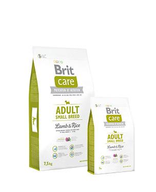 Brit Care Adult Small Breed Lamb & Rice Perro