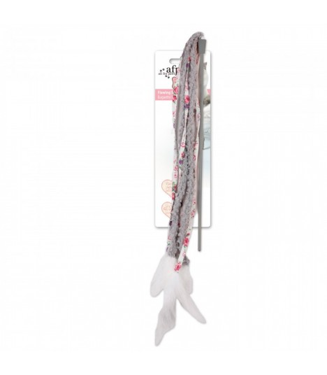 AFP Shabby Chic Flowing Streamer Wand