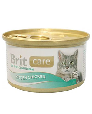 Brit Care Cat Kitten Chicken Lata