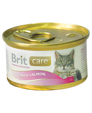Brit Care Cat Tuna & Salmon Lata