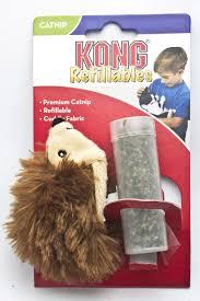 Kong Refillables Erizo Catnip