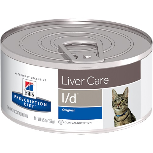 Hills Lata Liver Care L/d Gato