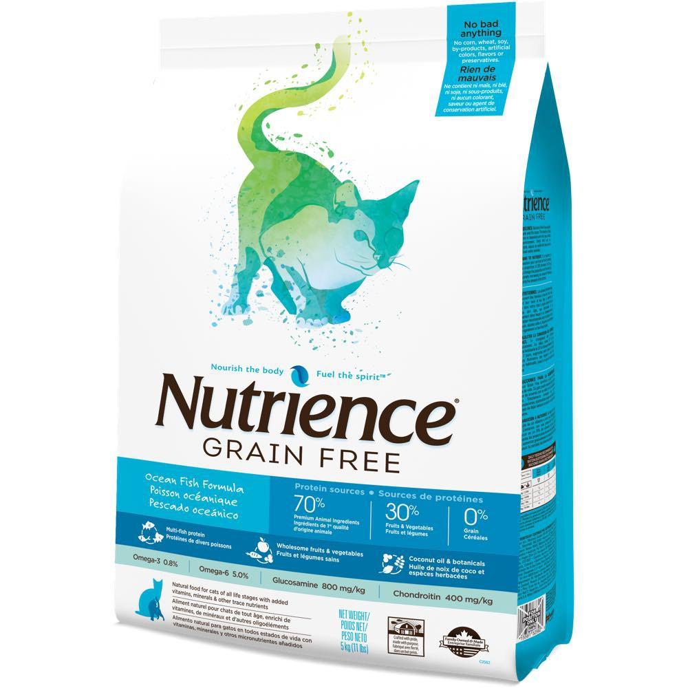 Nutrience Grain Free Ocean Fish Gato