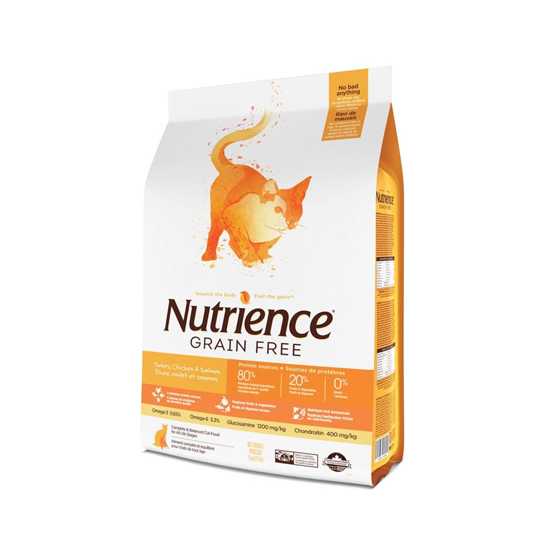 Nutrience Grain Free Pavo-Pollo-Arenque Gato