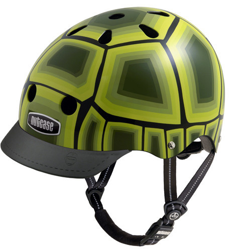 Casco Turtle verde nutcase