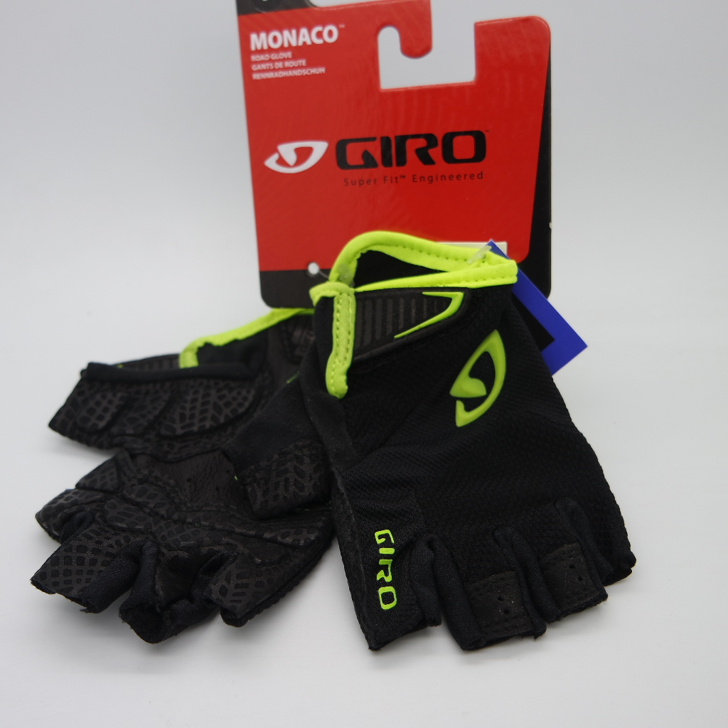 Guante Giro Zero  negro / amarillo