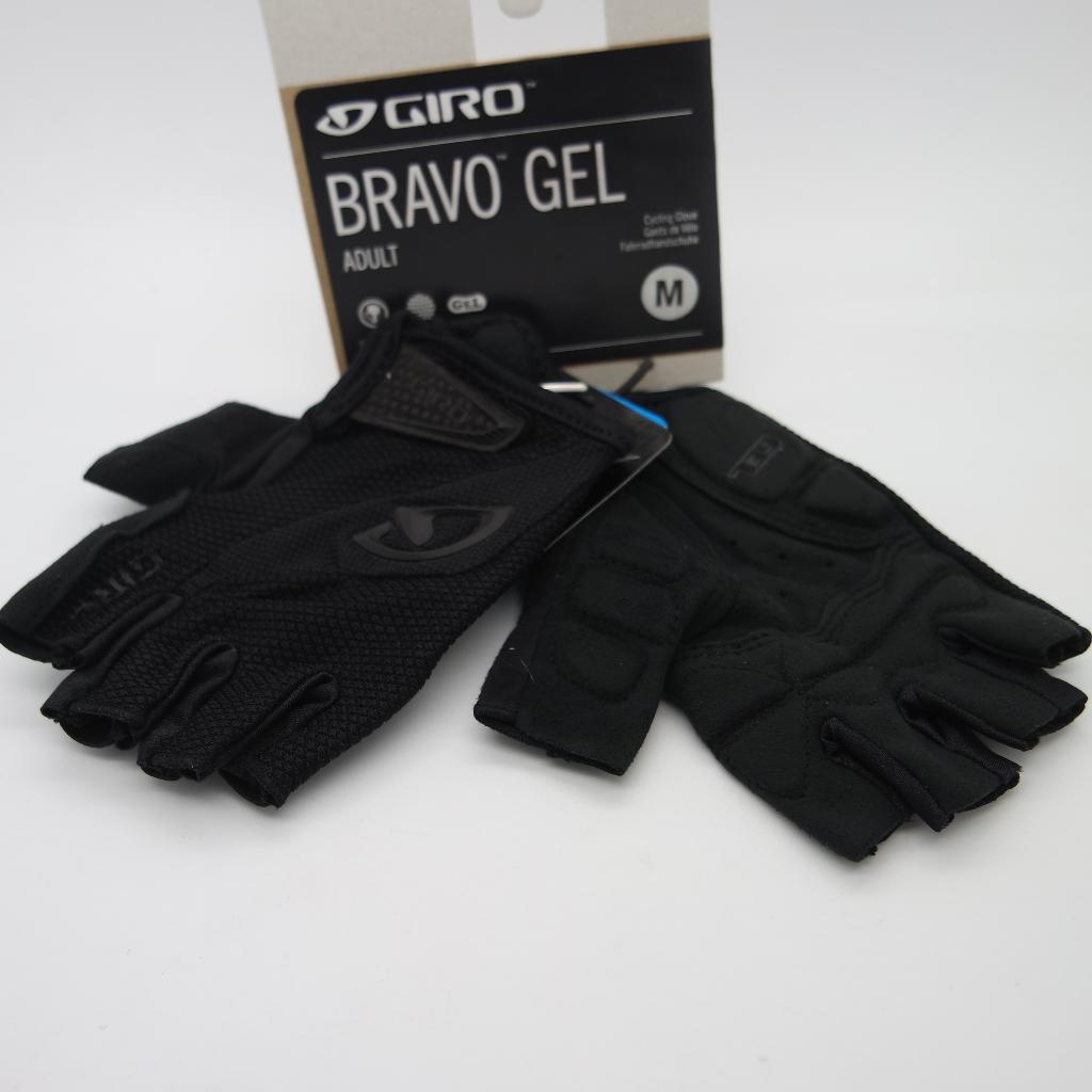 Guante Giro Bravo gel black