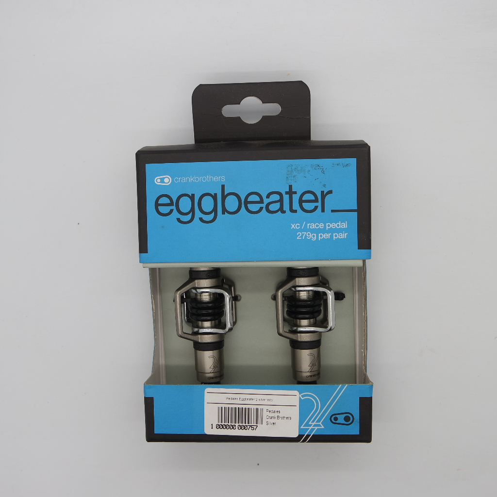Pedales Eggbeater 2 silver mtb