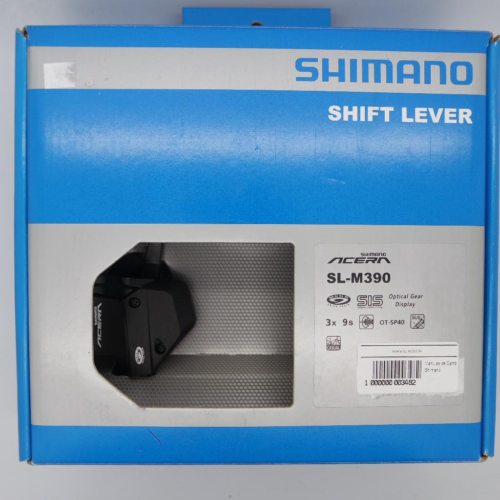 Manilla de cambio Acera SL-M390 9v