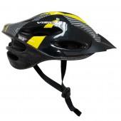 Casco MTB Negro Amarillo Vision