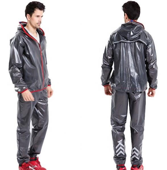 Chaqueta y Pantalon Negro lluvia