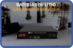 BATERÍA SOLAR DE LITIO