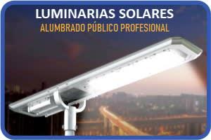 LUMINARIAS SOLARES