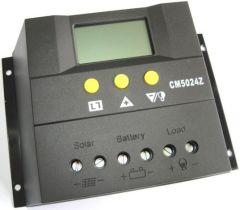 Controlador de Carga 50A 12/24V y Pantalla LCD PWM