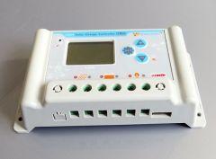 Controlador de Carga 30A 36/48/60V Sensor de Tempe