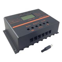 Controlador de Carga 80A 12/24V Pantalla LCD y USB