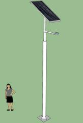 Poste Solar Acero Galvanizado 5 Metros