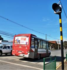 Poste de Acero 3,7 Metros para Baliza de Advertencia Solar