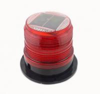 Baliza Solar Estroboscopica Color Rojo