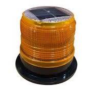 Baliza Solar Estroboscopica Color Amarillo