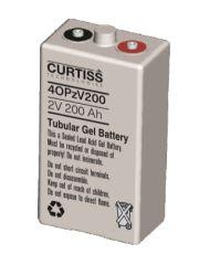 Batería Curtiss Tubular GEL 4OPzV200 2V 200Ah Ciclo Profundo