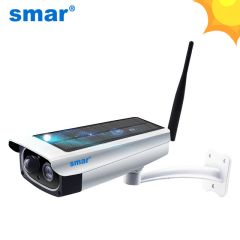 Cámara de Vigilancia 1080P WiFi Solar con Batería de Litio