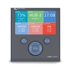 Victron Color Control GX Display y Monitoreo Remoto