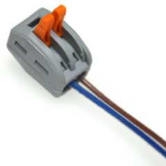Conector Universal 2,5 a 4 mm Doble (WAGO)