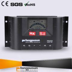 Controlador de Carga Fangpusun 30A 12/24V y Pantalla LCD