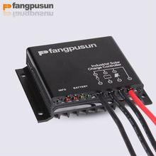 Controlador de Carga Fangpusun 10A 12V IP68 para Luminaria Solar