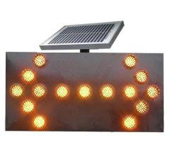 Flecha LED Solar Mantención Vial