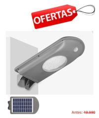 Foco Solar LED 500 Lúmenes 5W para Poste de Alumbrado
