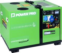 Generador a Gas y/o Gasolina Power Pro DG5000D