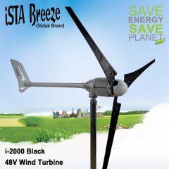 Ista-Breeze Generador Eólico 2kW Max. 48V 3 Aspas