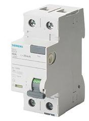 Siemens Interruptor Diferencial Tipo A 2P 25A 30mA