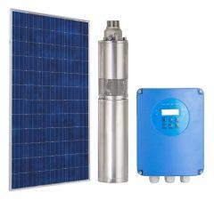 Kit Bomba Solar Pozo Profundo 3 Pulg 48V 1.5m3/hr 80mca 375W