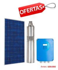 Kit Bomba Solar Pozo Profundo 3 Pulg 24V 1.5m3/hr 70mca 230W