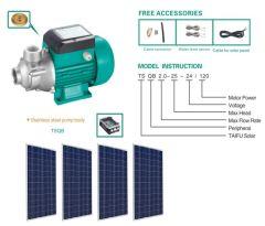 Kit Bomba Solar Pozo Profundo 60 Metros 750W más Paneles