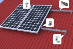 Kit de Montaje Solar 4 Paneles 200 a 335 Wp Techo